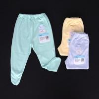 MIYO 3 Pcs Celana Panjang Tutup Kaki Bayi/Baby Warna S, Limited