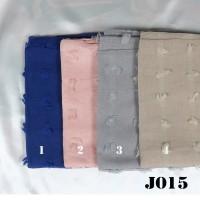 Jilbab Segi Empat Rubiah Linen Square J15