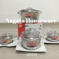 8pcs Cookware Set - Extreme Plus II EP8-593 Zebra 185593