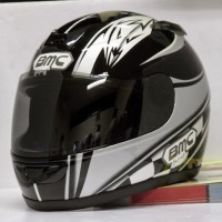 Kaca helm Putih Hitam CLEAR untuk Helm BMC T REX. Kualitas Bagus