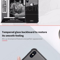 AtouchBo Kingkong Armor Tempered Glass Phone Case iPhone X