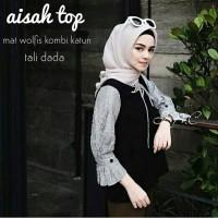 Foto hijab/hijab cantik/baju muslim 2018/hijab ootd - Aisah top