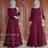 Baju lebaran 2018/hijab ootd/hijabers/nonihijab - Mariana dress