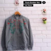 Florie Bomber Grey Jaket