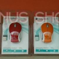 Logitech Wireless Mouse M187 Original 100% / Mouse Wireless M 187
