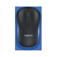 Logitech M185 Wireless Mouse - Biru Blue M 185 Original Garansi Resmi