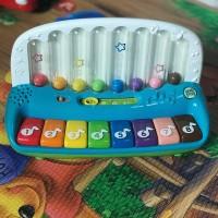 preloved piano leapfrog mainan bekas