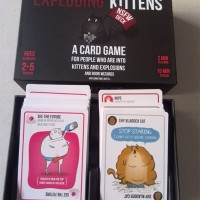 Exploding kittens card game NSFW (family card game) KUALITAS SUPER