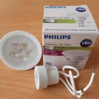 led philip putih 220v lampu sorot model halogen mr 16 model tancap