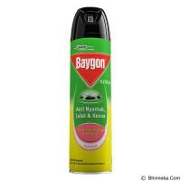 BAYGON AEROSOL 600ML KUNING SPRAY SEMPROT SPREI 600 ML OBAT NYAMUK