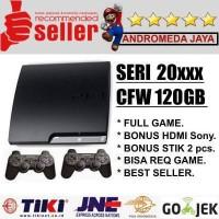 SONY PS3 PS 3 PLAYSTATION 3 slim 120GB CFW Seri 20XX