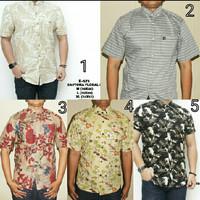 Baju Kemeja Pria Songket Batik Ungu Keren Gaya