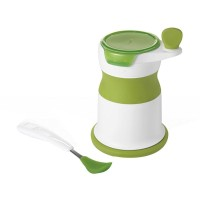 OXO Tot Baby Food Mill With Silicone Feeding Spoon Set Alat Makan Bayi