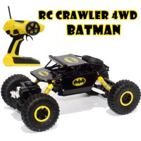 RC Rock Crawler Jeep Merah/Hijau