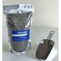 Organic Black Chia Seeds Mexico 500 gram -Organic Chiaseed / Chia seed