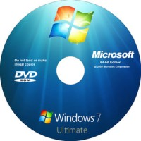CD/DVD Windows 7 32 / 64 bit Ultimate