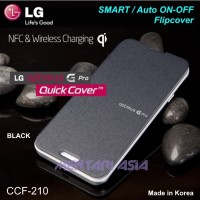 Flipcover LG Optimus G-PRO E988 : GENUINE SMART CCF-210 Quick Cover