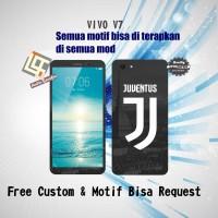 Garskin HP Vivo V7 motif Logo Juventus - motif bisa request