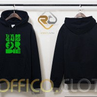 Jaket Hoodie Logo Taylor Gang Or Die - Hitam - Roffico Cloth