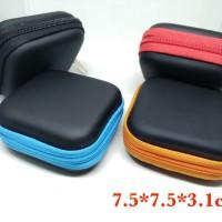 Jual Stylish Colorful Earphone Case Headset Tempat (7.5x7.5x3.1cm) Murah