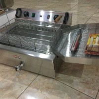 mesin penggoreng listrik, deepfryer listrik penggoreng ayam listrik
