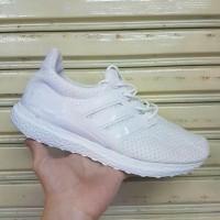 Sepatu Adidas Ultraboost White Putih / Pria Wanita / Ultra Boost