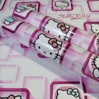 Hello Kitty Kotak Pink 45cm x 10mtr Wallpaper Sticker