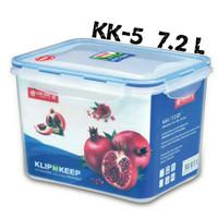 Klip To Keep 7.2L (KK 5) Wadah Kontainer Kedap Udara AIRTIGHT WATERPRO