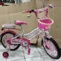 sepeda anak 16 mini family girl power