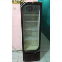 kulkas bekas pakai. untuk warung. boleh nego #kulkas #lemari pending