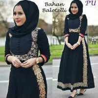 MANILA  BALOTELLI DRESS INDIA DRESS PESTA HIJABERS MEWAH EXCLUSIVE