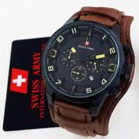 Jam tangan Swiss Army date super Crono premium # Jam tangan|zippo cust