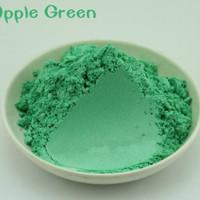 Natural Mica Powder 10g Pewarna Mika Bubuk Apple Green thumbnail