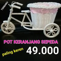 Pot Keranjang Sepeda