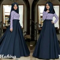 Jual AF Maxi dress Pesta /Gamis Pesta /Baju Muslim Terbaru Mahari Murah