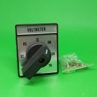 Volt Selector Switch 7 Posisi TR-ST-RS-0-RN-SN-TN 3 Pole 20A 220V