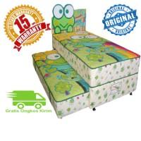 2IN1 KASUR SPRING BED BIGDREAM BY BIGLAND KEROPIE 120X200 LISENSI ASLI