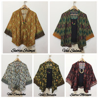 Blouse dan Outer Kimono 2 in 1