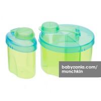 Munchkin Powdered Formula Dispenser Combo Pack Green Yellow T2909