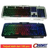 Rexus Keyboard Gaming K9D Semi Mechanical 19 Keys Anti Ghost - RX-K9D