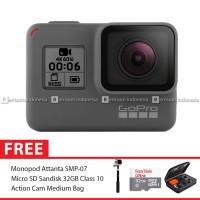 GoPro Hero6 / GoPro Hero 6 Black Combo Deluxe 32GB MURAH