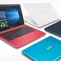 NOTEBOOK ASUS E202SA-FD114D RED E202SA N3060 2GB 500GB 12 INCH DOS