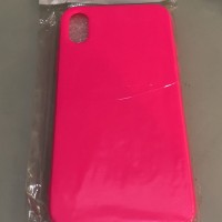 Jellycase iPhone X Pink