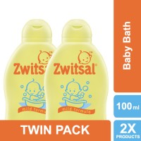 Zwitsal Baby Bath Classic 100ml - Twin Pack