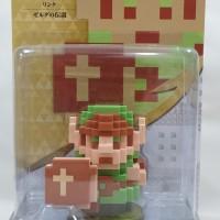 Nintendo Switch - Wii U - 3DS - Amiibo Zelda 30th 8Bit Link