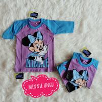 Kaos Anak Reglan Karakter Cewe/Kuda Poni/Cinderella/Hello Kitty/Minnie