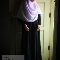 Baju Gamis / Fashion Wanita / Set. Gamis Cadar Ninja