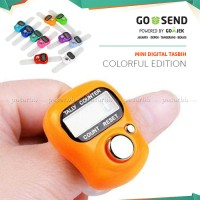 Tasbih Digital Mini Finger Counter Penghitung Digital /Penghitung Mini