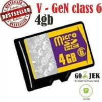 MICRO SD V-Gen 4 GB CLASS 6 Adapter - ORIGINAL MURAH Berkualitas