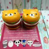 Squishy Licensed Panda Jumbo Burger by Johwa